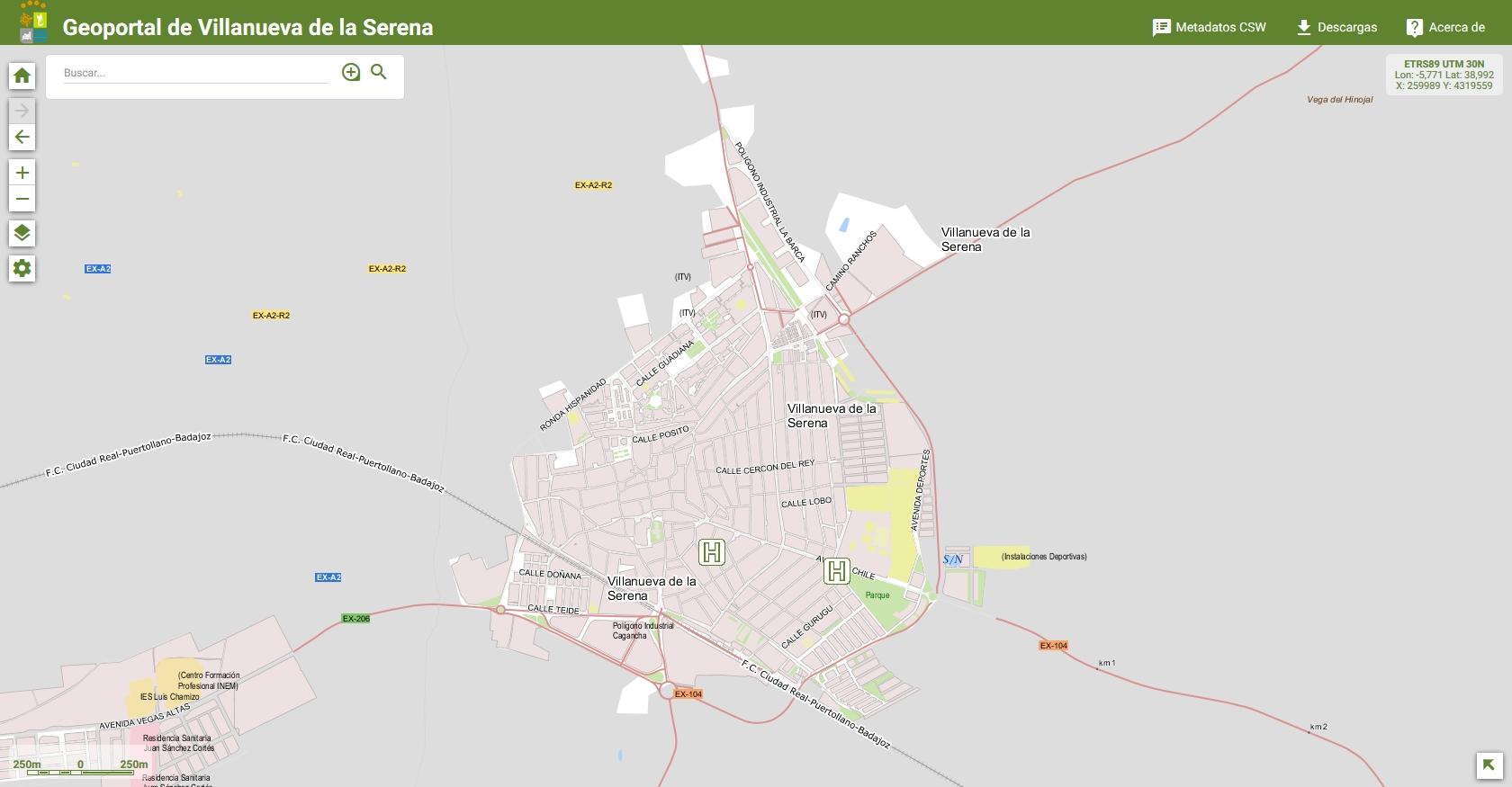 Turismo - Mapa de Alojamientos