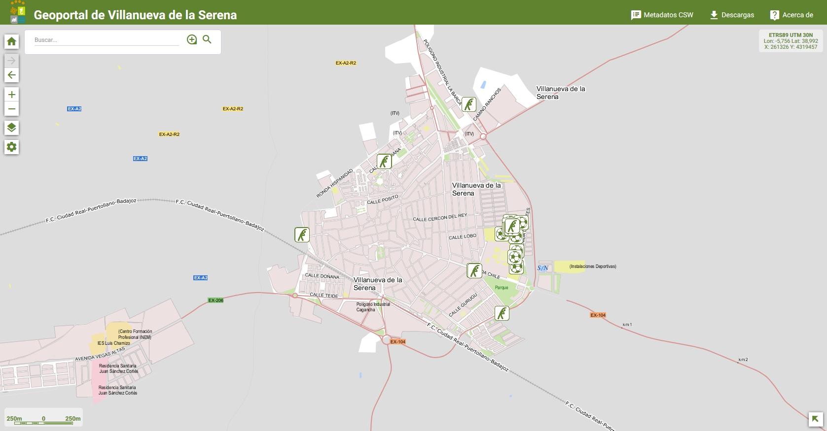 Deportes - Mapa de Deportes