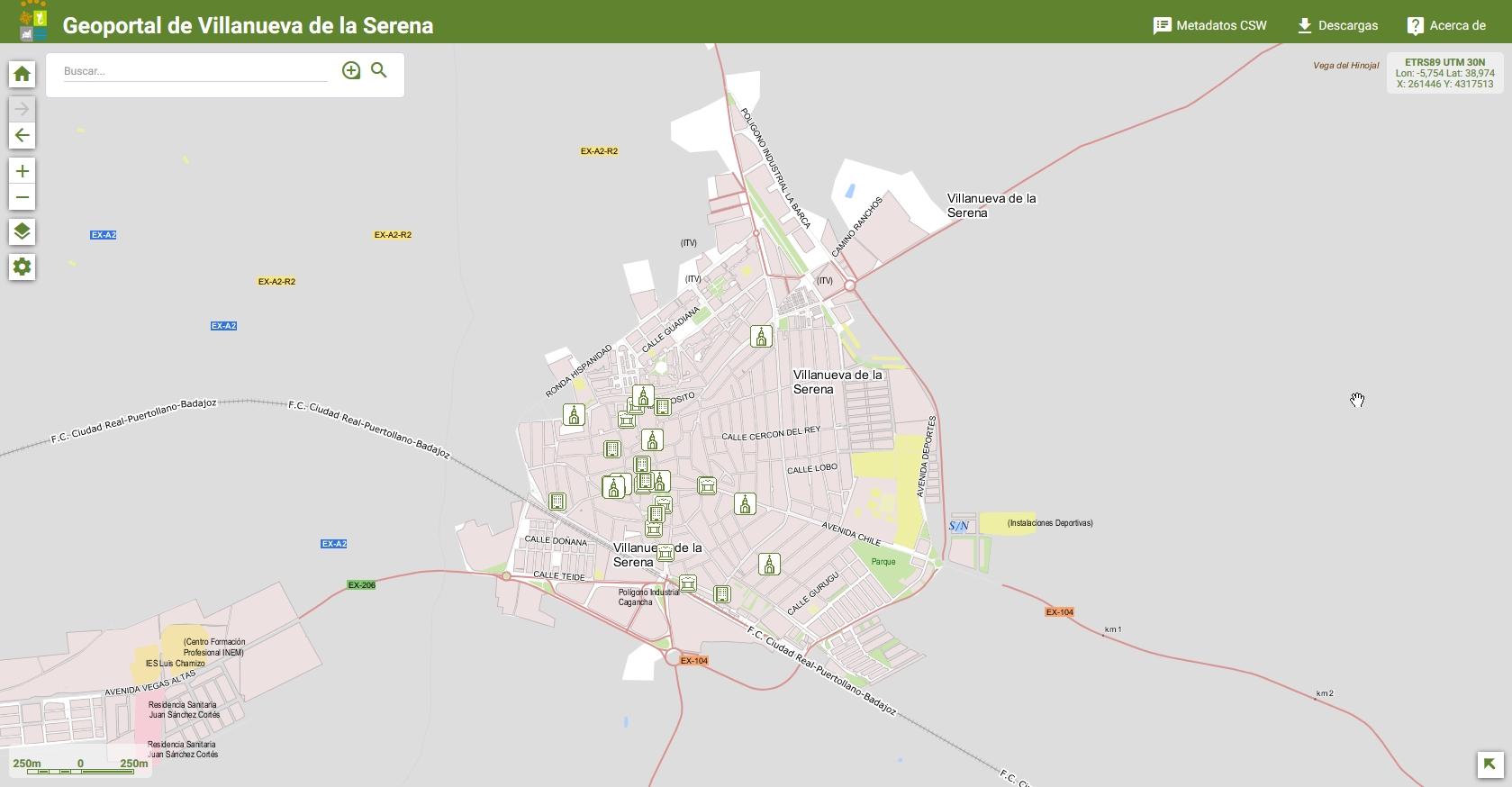 Turismo - Mapa Patrimonial